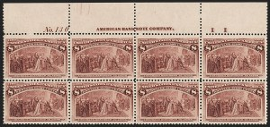 Sale Number 1200, Lot Number 146, 1¢-50¢ 1893 Columbian Issue (Scott 230-245),