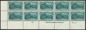 Sale Number 1200, Lot Number 148, 1¢-50¢ 1893 Columbian Issue (Scott 230-245),