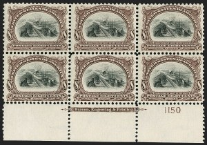 Sale Number 1200, Lot Number 178, 1901 Pan-American Issue (Scott 294-299),