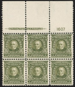 Sale Number 1200, Lot Number 185, 1902-08 Issues (Scott 300-320),