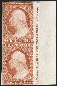 Sale Number 1200, Lot Number 19, 1¢-12¢ 1851-56 Issue (Scott 5-17),