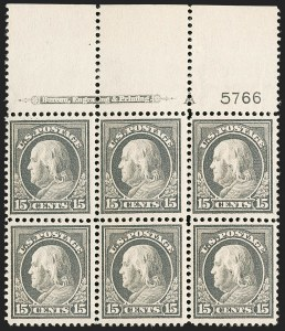 Sale Number 1200, Lot Number 226, 1912-14 Washington-Franklin Issue (Scott 405-422),