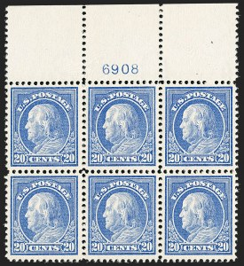 Sale Number 1200, Lot Number 227, 1912-14 Washington-Franklin Issue (Scott 405-422),