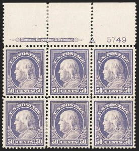 Sale Number 1200, Lot Number 229, 1912-14 Washington-Franklin Issue (Scott 405-422),