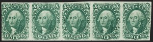 Sale Number 1200, Lot Number 23, 1¢-12¢ 1851-56 Issue (Scott 5-17),