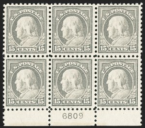Sale Number 1200, Lot Number 243, 1916-17 Issues (Scott 462-480),