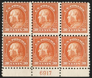 Sale Number 1200, Lot Number 244, 1916-17 Issues (Scott 462-480),