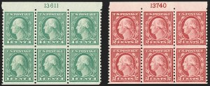 Sale Number 1200, Lot Number 258, 1922-23 Issues (Scott 485-550),