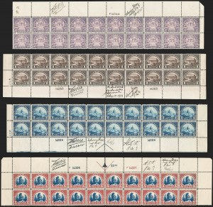 Sale Number 1200, Lot Number 266, 1923-29 Issues, including Kans.-Nebr. Overprints (Scott 573-678),