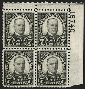 Sale Number 1200, Lot Number 269, 1923-29 Issues, including Kans.-Nebr. Overprints (Scott 573-678),