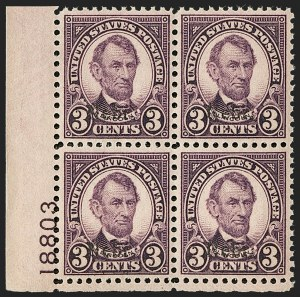 Sale Number 1200, Lot Number 272, 1923-29 Issues, including Kans.-Nebr. Overprints (Scott 573-678),