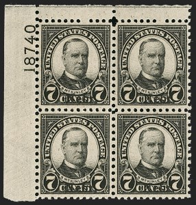 Sale Number 1200, Lot Number 275, 1923-29 Issues, including Kans.-Nebr. Overprints (Scott 573-678),