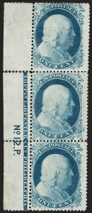 Sale Number 1200, Lot Number 28, 1¢-90¢ 1857-60 Issue (Scott 18-39),