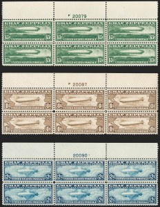 Sale Number 1200, Lot Number 283, Air Post Issues,