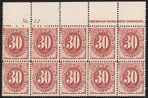 Sale Number 1200, Lot Number 294, Postage Due, Offices In China Issues,