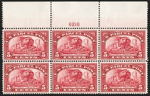 Sale Number 1200, Lot Number 299, Parcel Post Issues,