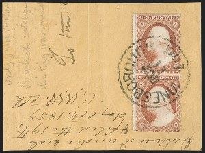 Sale Number 1200, Lot Number 35, 1¢-90¢ 1857-60 Issue (Scott 18-39),