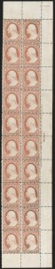 Sale Number 1200, Lot Number 36, 1¢-90¢ 1857-60 Issue (Scott 18-39),
