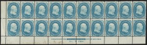 Sale Number 1200, Lot Number 53, 1861-66 Issue (Scott 56-77),