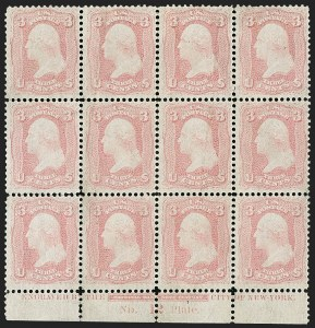 Sale Number 1200, Lot Number 55, 1861-66 Issue (Scott 56-77),