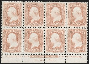 Sale Number 1200, Lot Number 57, 1861-66 Issue (Scott 56-77),