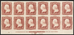 Sale Number 1200, Lot Number 59, 1861-66 Issue (Scott 56-77),