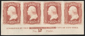 Sale Number 1200, Lot Number 60, 1861-66 Issue (Scott 56-77),