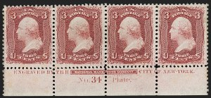 Sale Number 1200, Lot Number 61, 1861-66 Issue (Scott 56-77),