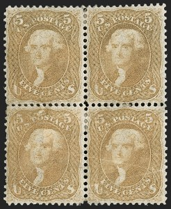 Sale Number 1200, Lot Number 62, 1861-66 Issue (Scott 56-77),