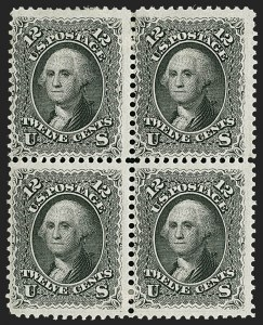 Sale Number 1200, Lot Number 64, 1861-66 Issue (Scott 56-77),