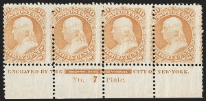 Sale Number 1200, Lot Number 66, 1861-66 Issue (Scott 56-77),