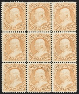 Sale Number 1200, Lot Number 67, 1861-66 Issue (Scott 56-77),