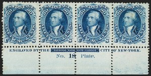 Sale Number 1200, Lot Number 68, 1861-66 Issue (Scott 56-77),
