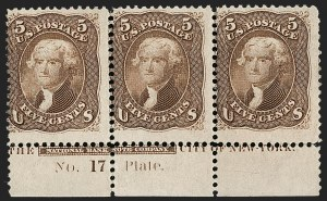 Sale Number 1200, Lot Number 71, 1861-66 Issue (Scott 56-77),