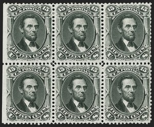 Sale Number 1200, Lot Number 73, 1861-66 Issue (Scott 56-77),