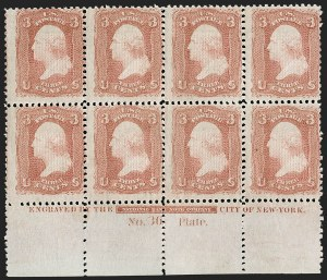 Sale Number 1200, Lot Number 79, 1867-68 Grilled Issue (Scott 79-101),