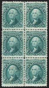 Sale Number 1200, Lot Number 80, 1867-68 Grilled Issue (Scott 79-101),