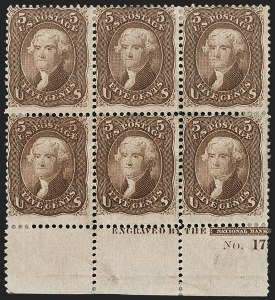 Sale Number 1200, Lot Number 86, 1867-68 Grilled Issue (Scott 79-101),