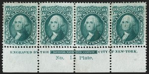Sale Number 1200, Lot Number 88, 1867-68 Grilled Issue (Scott 79-101),