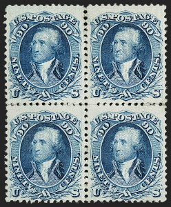 Sale Number 1200, Lot Number 94, 1867-68 Grilled Issue (Scott 79-101),