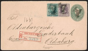 Sale Number 1201, Lot Number 2128, U.S. Registry Exchange Labels10c Green (226), 10c Green (226)