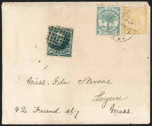 Sale Number 1201, Lot Number 2189, Foreign Mail: Samoa10c Green (226), 10c Green (226)