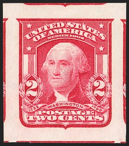Sale Number 1202, Lot Number 2316, 1906-08 2-Cent Shield Imperforate Issue (Scott 320-320A)2c Carmine Rose, Ty. I, Imperforate (320c), 2c Carmine Rose, Ty. I, Imperforate (320c)