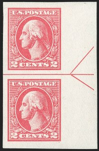 Sale Number 1202, Lot Number 2651, 1918-20 Offset Imperforate Issue (Scott 533-534B)2c Carmine, Ty. VII, Imperforate (534B), 2c Carmine, Ty. VII, Imperforate (534B)