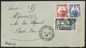 Sale Number 1203, Lot Number 133, French CamerounCAMEROUN (French), 1915, 35c Dark Violet & Green (109; Yvert 46), CAMEROUN (French), 1915, 35c Dark Violet & Green (109; Yvert 46)