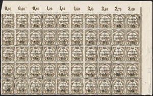 Sale Number 1203, Lot Number 77, French Togo - First PrintingTOGO (French), 1914, 5c on 3pf Brown (151-153; Yvert 23-23e), TOGO (French), 1914, 5c on 3pf Brown (151-153; Yvert 23-23e)