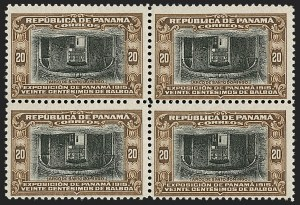 Sale Number 1204, Lot Number 1116, Italy thru PanamaPANAMA, 1915, 20c Brown & Black, Center Inverted (212a), PANAMA, 1915, 20c Brown & Black, Center Inverted (212a)