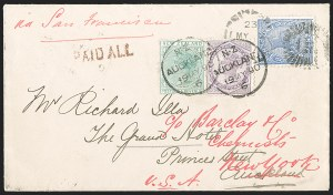 Sale Number 1204, Lot Number 223, Great Britain thru BermudaQUEENSLAND, 1890, 2p Gray Blue (91; SG 190), QUEENSLAND, 1890, 2p Gray Blue (91; SG 190)