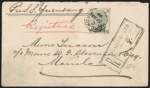 Sale Number 1204, Lot Number 250, Cook Islands thru IndiaHONG KONG, 1891, 20c on 30c Yellow Green (61; SG 48), HONG KONG, 1891, 20c on 30c Yellow Green (61; SG 48)
