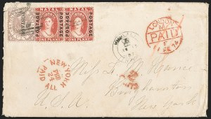 Sale Number 1204, Lot Number 264, Jamaica thru St. HelenaNATAL, 1870, 1p Red (38; SG 60), NATAL, 1870, 1p Red (38; SG 60)